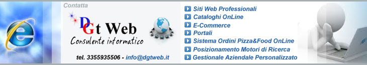 Contatta DGt Web - Internet e Software Solutions