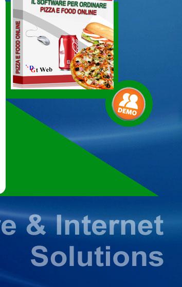 PIZZA ON LINE sicuramente non è il primo sistema di ordini Pizza e Food On Line ideato esclusivamente per Pizzerie e Catering con sevizio a domicilio, ma è sicuramente l'ideale per questa tipologia di attività. E' possibile ordinare online pizze, pranzi, cene, snack, bibite e dessert con pochi click dal mouse del cliente